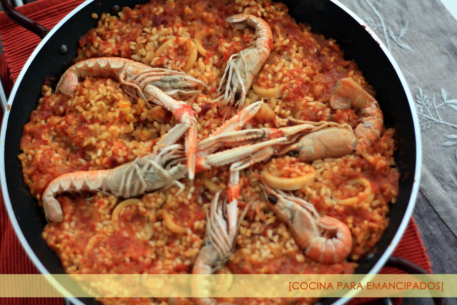 Hecho en mi cocina junio 2010 - Cocina con sara paella ...