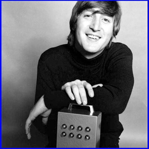 Magic Mac Smile John Lennon