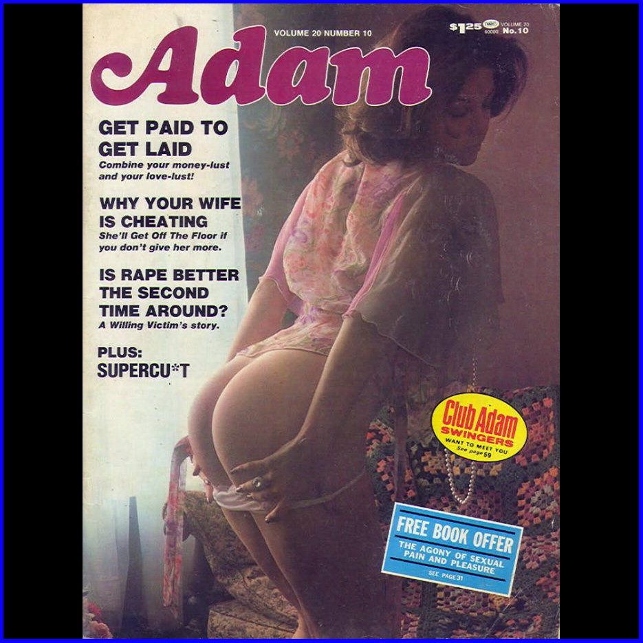 Magazine: Adam. Posted by Tarkus at 00:56. Labels: Adam, Adult Magazine, ...
