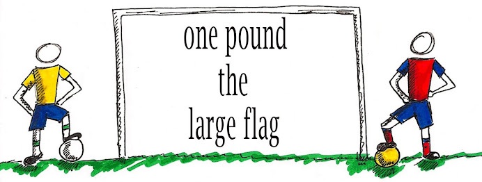 One Pound The Large Flag