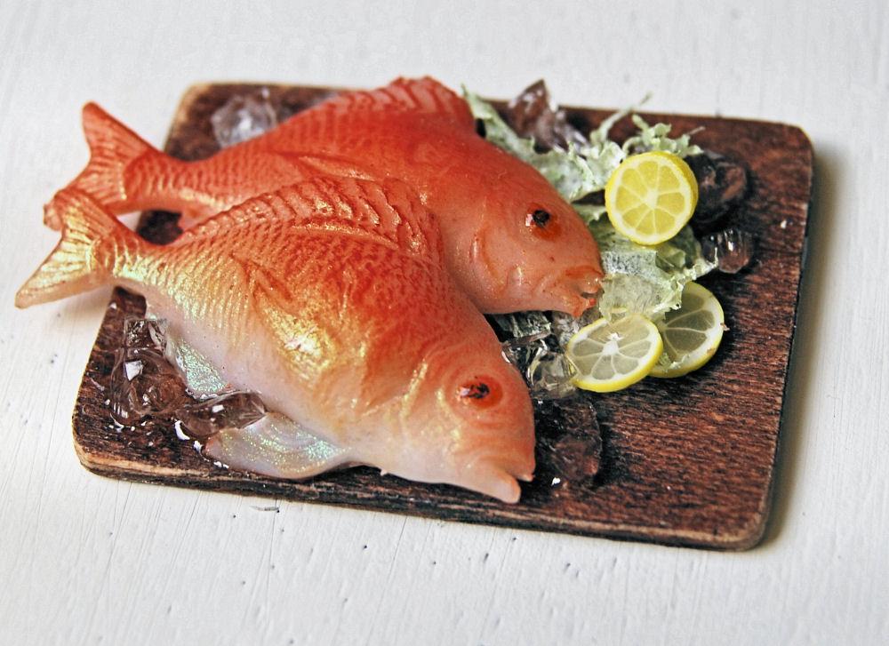 Christel jensen red mullet for Red mullet fish