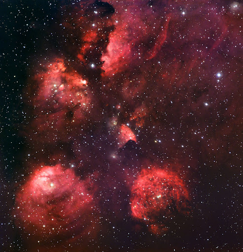 The Cat's Paw Nebula (NGC 6334)