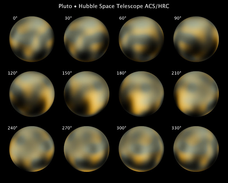 Hubble's Full Photomap of Pluto