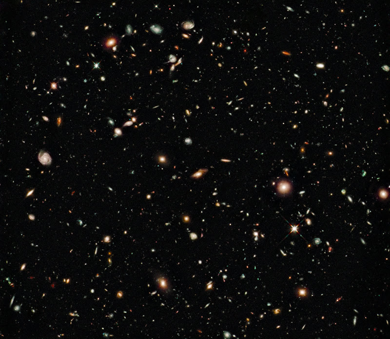 NASA's Hubble Space Telescope has made the deepest image of the universe ever taken in near-infrared light.