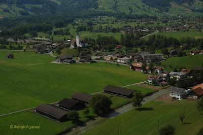 Beautiful Swiss countryside