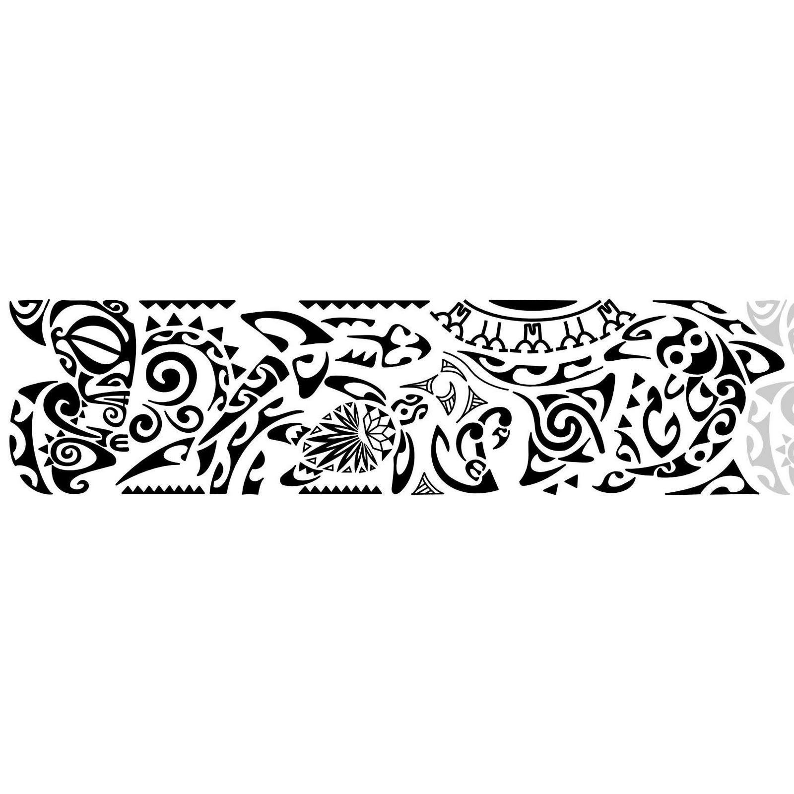 Tatouage Tribal Bras Modèle Tatouage