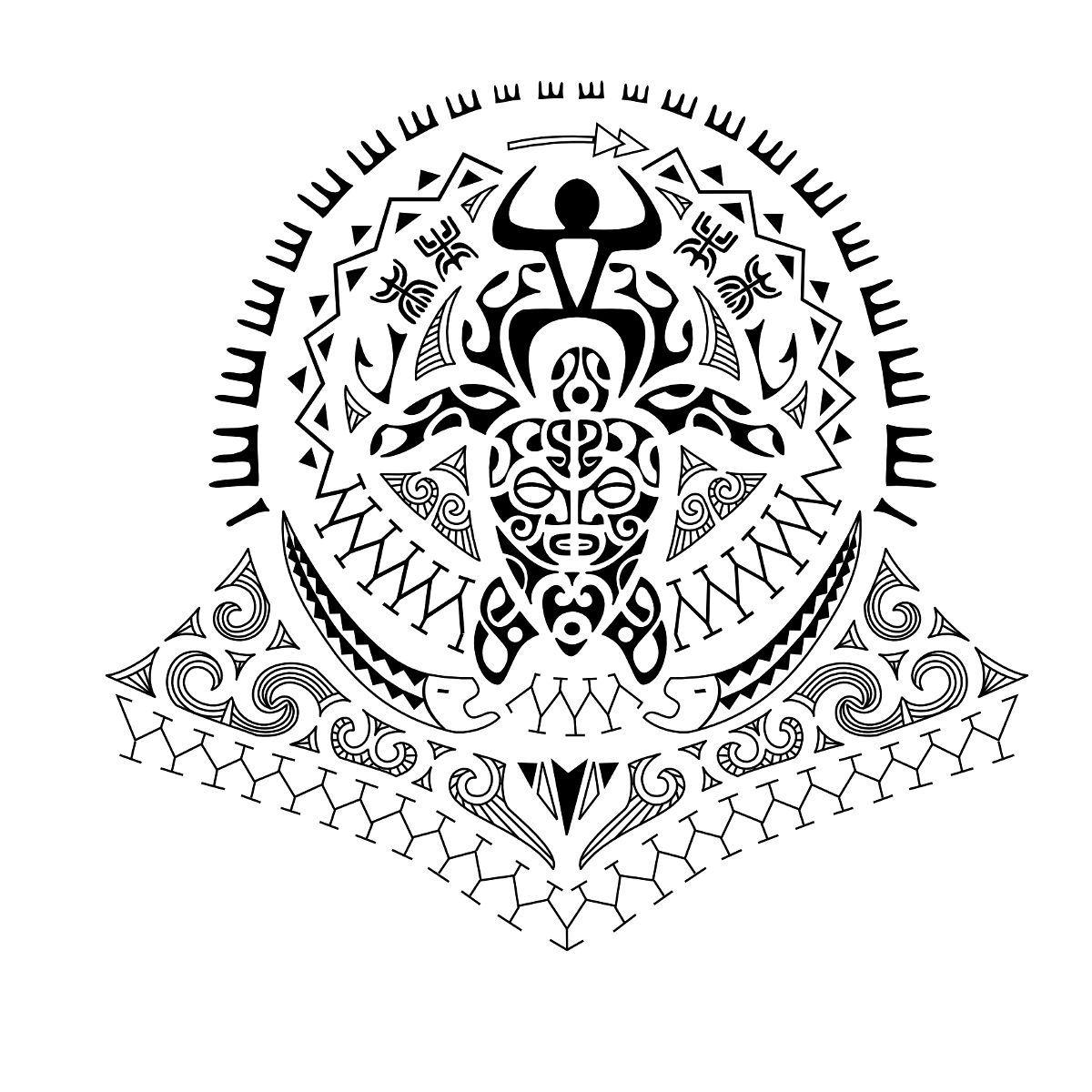 Filipino Tattoos Designs Ideas And Meaning: PZ C: Tatuaggi Maori