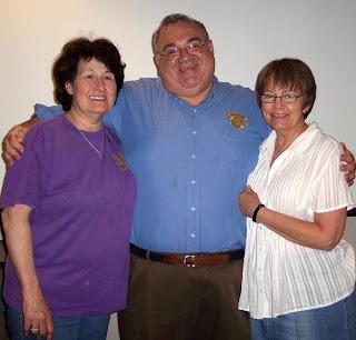 LtoR: Grace, HHCC Pres; Jack, SVP of LB; Kathy, HHCC member