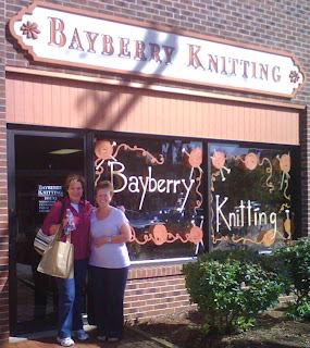 The Bayberry Knitting shop located in Plainsville, CT, offers CGOA members a 10% discount when membership card is show.  Pictured is HHCC'er Karen, and Bayberry owner, Betty.