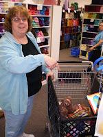Diane single-handedly stimulates the State of Massachusetts economy