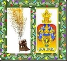 """Premio """"Blog de Oro y Dardos"""""""