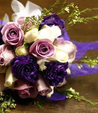 Purple Bouquet Ideas