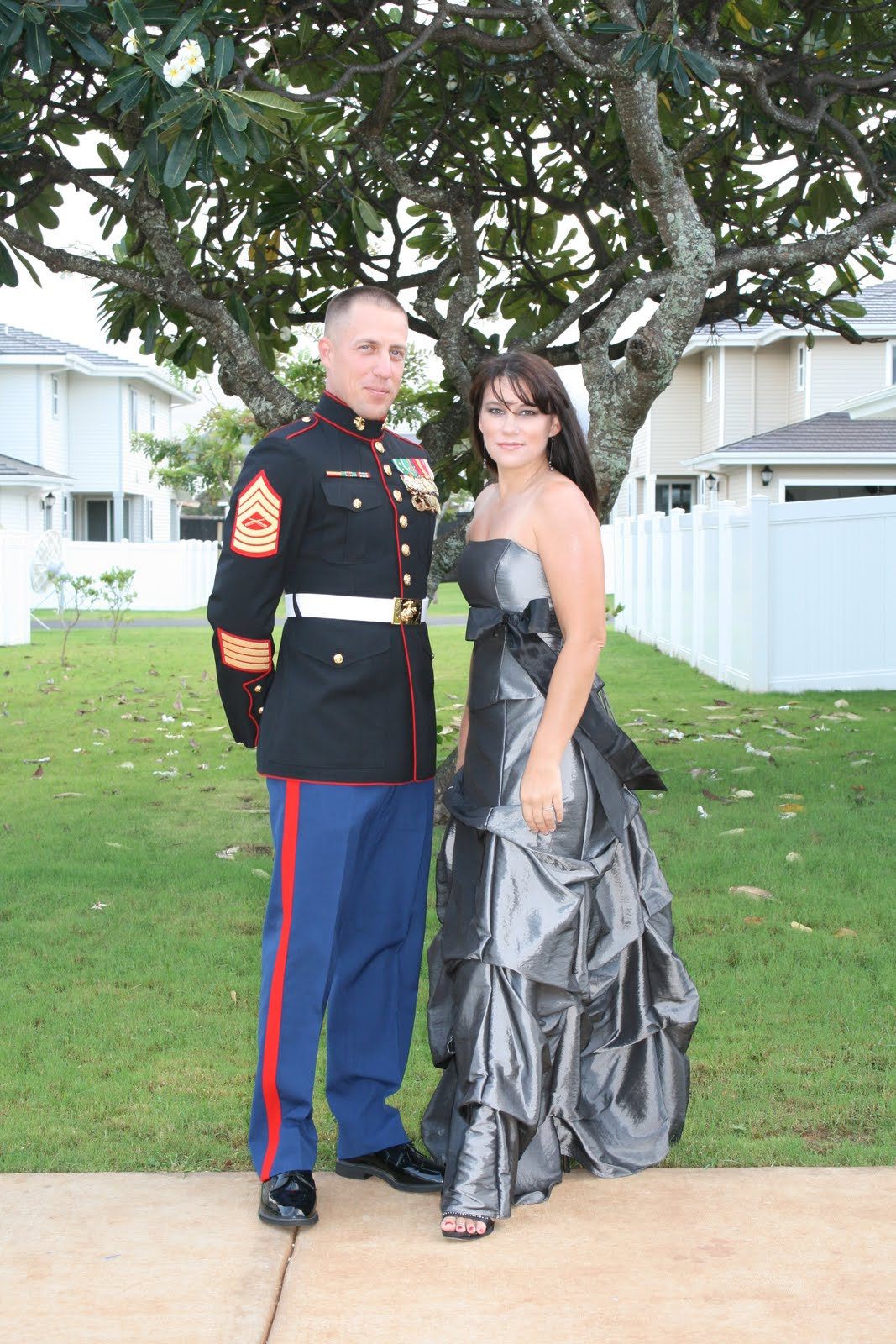 Marine Corps Ball dress help! [pics added] - General Support and