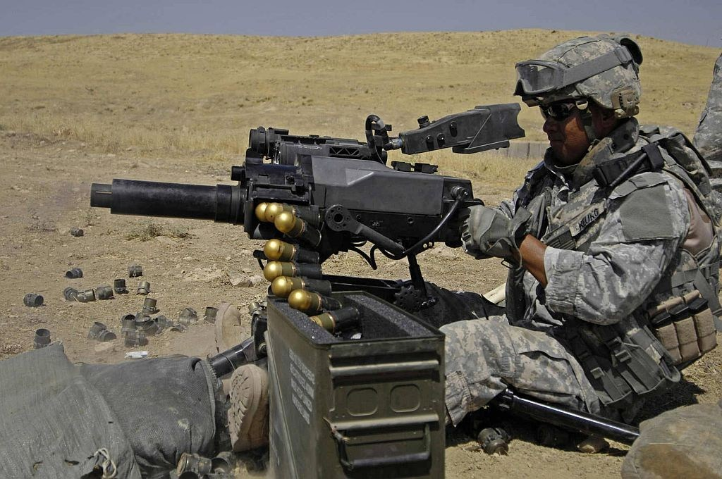 Mk 47 Striker 40 automatic grenade launcher US Army United States