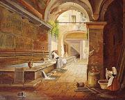 Antico lavatoio medievale