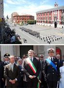 La celebrazione della Polizia Urbana-144° della fondazione-Bari