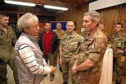Il giornalista Remondino ospite del Comandante Biancafarina in Kosovo