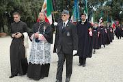 Processione delle guardie d'Onore...al P.