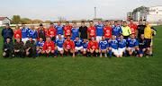 In maglia rossa i Kosovari, in maglia blu cinque nazioni