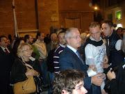 Il Sen. D'Ambrosio tra i giovani...