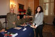 La consegna degli attestati di merito...Il Gen. Comandante Carmineantonio DEL SORBO
