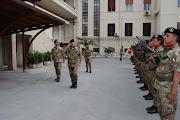 """Il Gen. Castagnetti, passa in rassegna la Brig. Corazz. """"Pinerolo""""a Bari"""