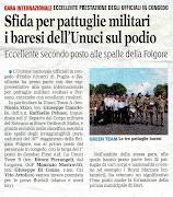 Gil ufficiali UNUCI si fanno onore a Persano-Sa-