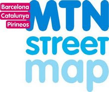 Mapa street de Cataluña