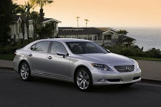 top best cars  9  Lexus LS 600h