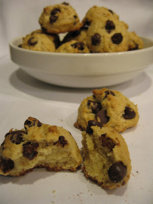 Baking with kids: Chocolate-banana cookies