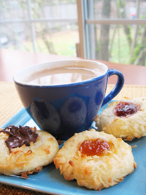 Cookie #3: Jam Thumbprint Cookies