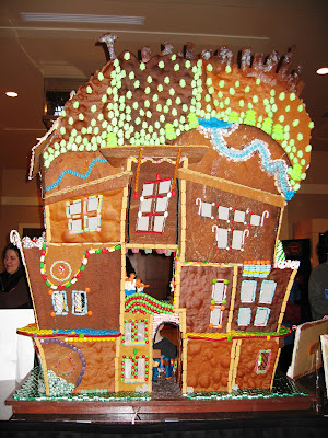 Gingerbread houses at the Sheraton, Downtown Seattle