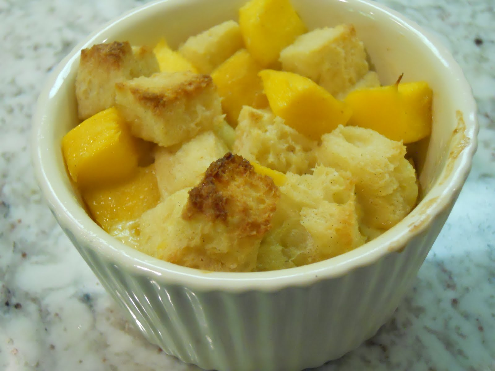 Culinary Conquests: Mango Bread Pudding