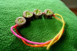 Wooden bracelt