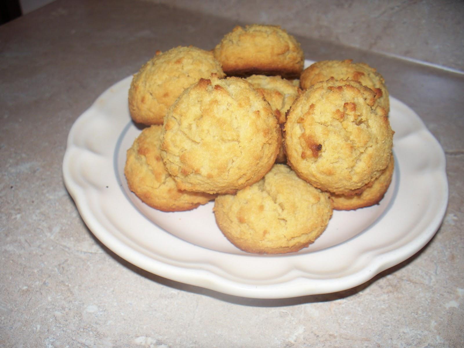 Vanilla Coconut Cookies (SCD, Nut Free)