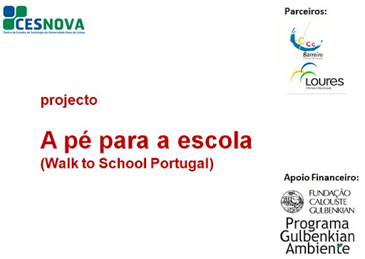 A pé para a escola (Walk to School Portugal)