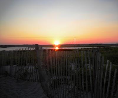Duxbury Bay sunset July 27th 2010 8:01pm