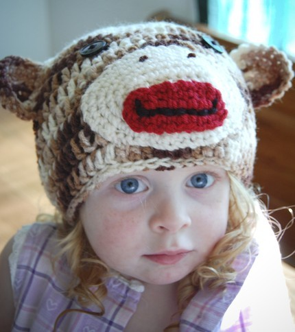 детские прикольные шапочки крючком.