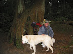 Bud Oracle and his White Wolf