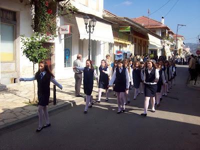 Εικόνες από τα τμήματα του σχολείου