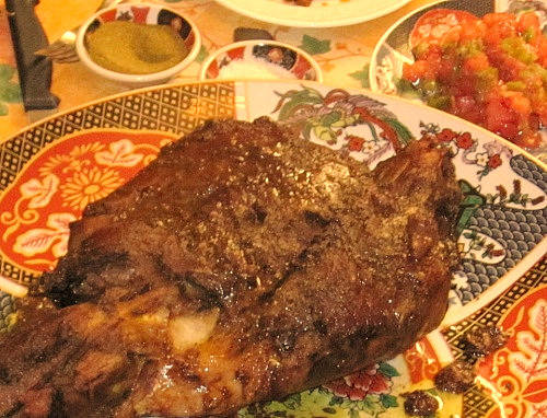 Moroccan mechoui recipe slow roasted leg of lamb or shoulder forumfinder Image collections