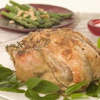 ... roast chicken recipe - How to Make Middle Eastern stuffed roast