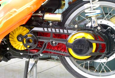 Modif Yamaha Mio Automatic