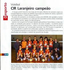 CIRL - Juvenis Masculinos Campeões Regionais