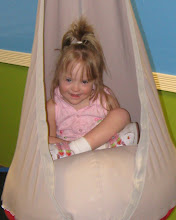 Katie Bug in the swing