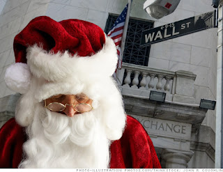 Wall Street Santa Stocks