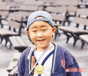 Foto Bo Bo Ho waktu masih kecil