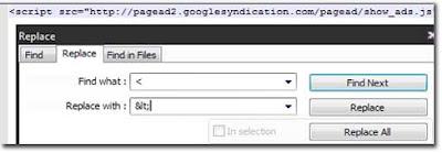 Cara Menuliskan HTML pada Post / Encrypt HTML
