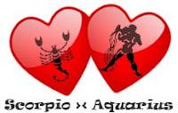 Asmara Aquarius dengan Scorpio