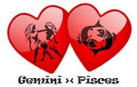 Asmara Pisces dengan Gemini